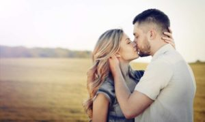 Kissing is always a good way to start pleasuring a woman.